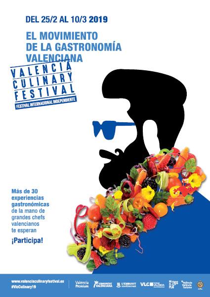 cartel valencia culinary festival 2019