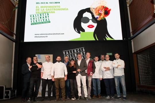 rueda de prensa valencia culinary festival 2019